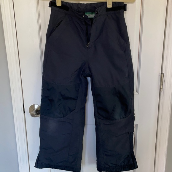 Kids LL Bean Cold Buster Snowpants size 8